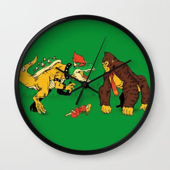 Boss vs Kong Wall Clock