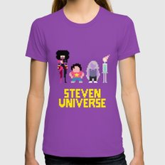 Steven Universe Womens Fitted Tee Ultraviolet SMALL