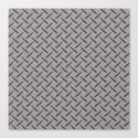 Diamond Deck Plate Canvas Print