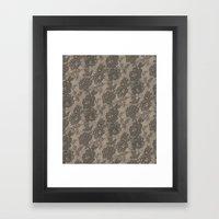 VINTAGE LACE I Framed Art Print