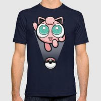 Jigglypuff Opened A Can … Mens Fitted Tee Navy SMALL