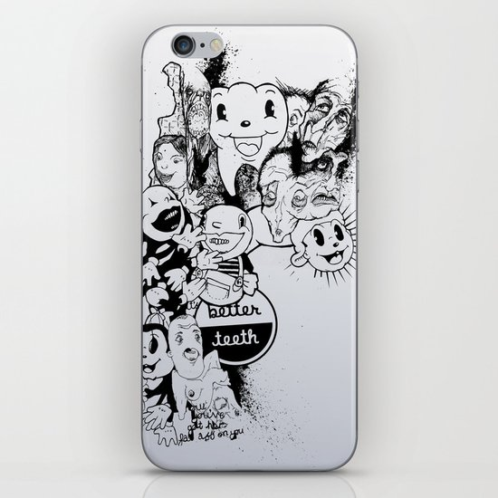 Better Teeth iPhone & iPod Skin