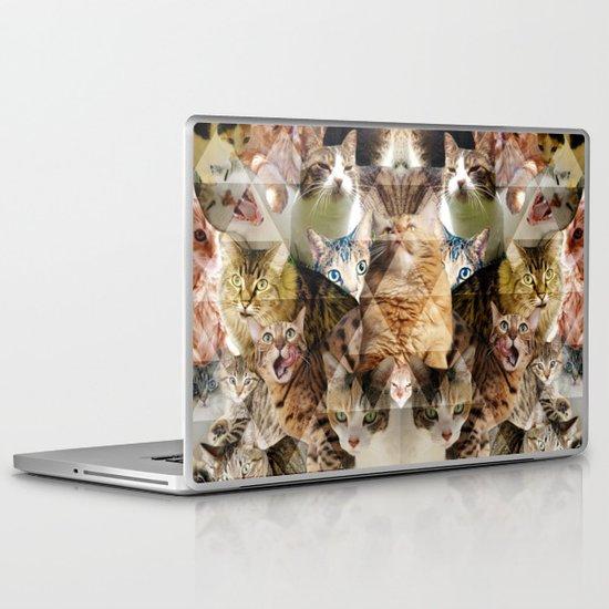 Cat Kaleidoscope Laptop & iPad Skin