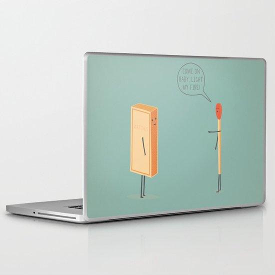 Light My Fire! Laptop & iPad Skin