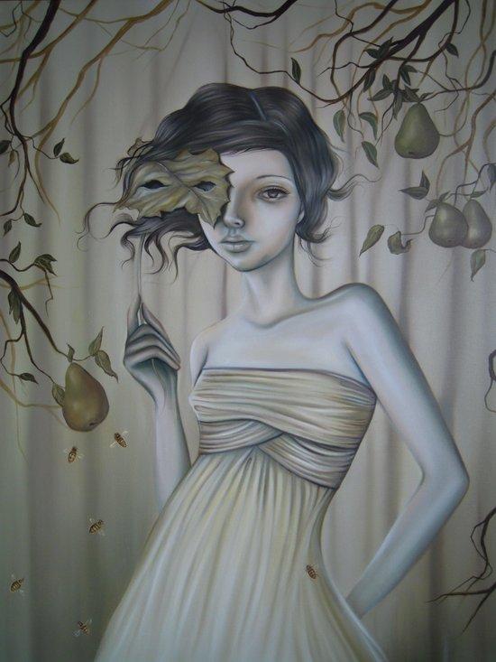 Fall Into Decay Art Print
