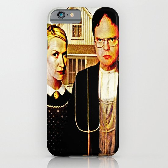 Dwight Schrute & Angela Martin (The Office: American Gothic) iPhone & iPod Case