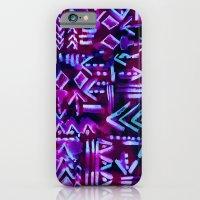 Tapa Tribal Purple iPhone 6 Slim Case