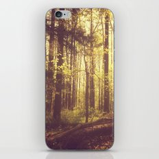 She Experienced Heaven on Earth Among the Trees iPhone & iPod Skin