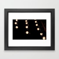 Vintage Light Framed Art Print