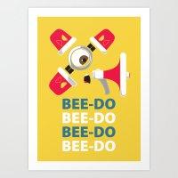 Bee-Do Bee-Do Art Print