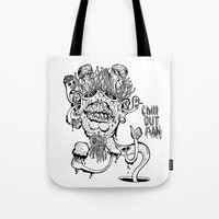 Chill Out Man Tote Bag