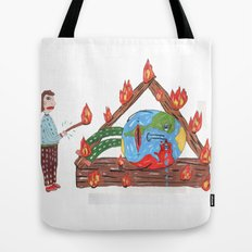 Mundinho - Burn Tote Bag