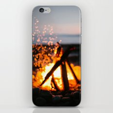 bonfire iPhone & iPod Skin