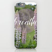 iPhone & iPod Case featuring Just Breathe by Audrey Kelly