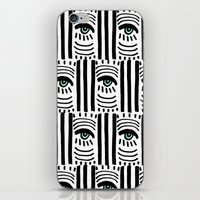 Graphic Eyes iPhone & iPod Skin