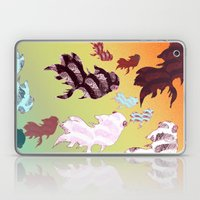 Dancing Fishes II Laptop & iPad Skin