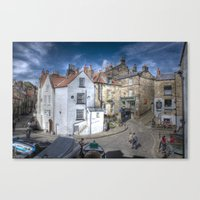 Robin Hood's Bay | Stree… Canvas Print
