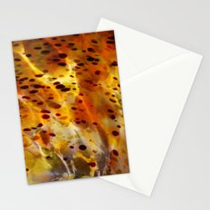 Abstract Red Stationery Cards