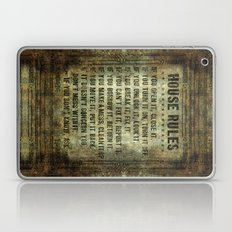 House Rules On Aged Vint… Laptop & iPad Skin