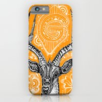 iPhone & iPod Case featuring Gazelle by Ejaculesc