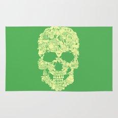 Clip Art Skull Rug