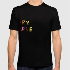 Dippy Hippie SMALL Mens Fitted Tee Black