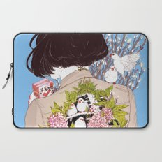 Strawberry Milk Laptop Sleeve