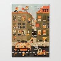 Horror Vacui ( 2010 ) Canvas Print