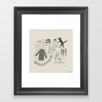 Monday Nineteeth Novembe… Framed Art Print