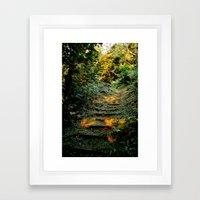 Enchanted Stairway Framed Art Print