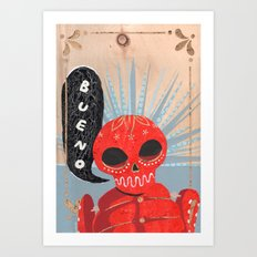 Don't You Miss Mexico? Art Print