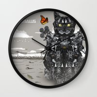 Transformaws Wall Clock