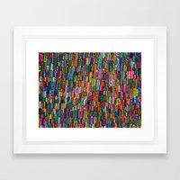 Traffic in India Framed Art Print