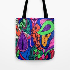 Arstract fruits Tote Bag