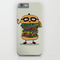 iPhone & iPod Case featuring Geek Burger by Ifan Rofiyandi