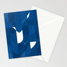 Blue Stamp Stationery Cards