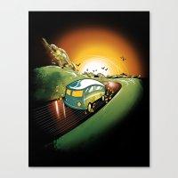 Killer Road Trip  Canvas Print