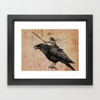 Fairy Scout Framed Art Print