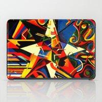 Intermixing Color Star  iPad Case