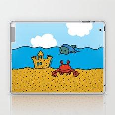 Fish and Crab Laptop & iPad Skin