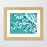 Carefree Days (mint edition) Framed Art Print