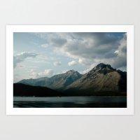 mountain calm Art Print