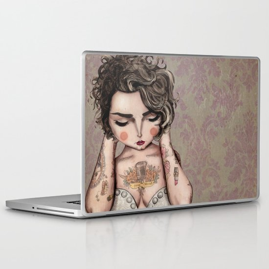 Vinila Von Bismark Laptop & iPad Skin
