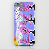 iPhone & iPod Case featuring AS LOVE BLOSSOMS - 051 by Lazy Bones Studios