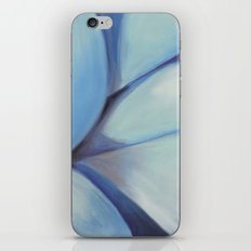 Blue Ribbon - Pastel Illustration iPhone & iPod Skin