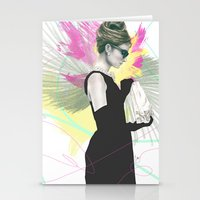 Breakfast At Tiffany's F… Stationery Cards