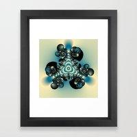 Reverberate Framed Art Print
