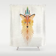Fox Spirit  Shower Curtain