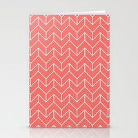 chevron Stationery Cards featuring Chevron by Dizzy Moments