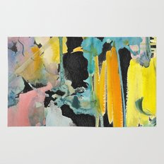 Abstract watercolour Rug
